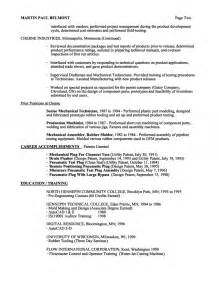 Audio Engineer Resume Sle by Resume Pharmacy Technician Cover Letter Pharmacy Assistant