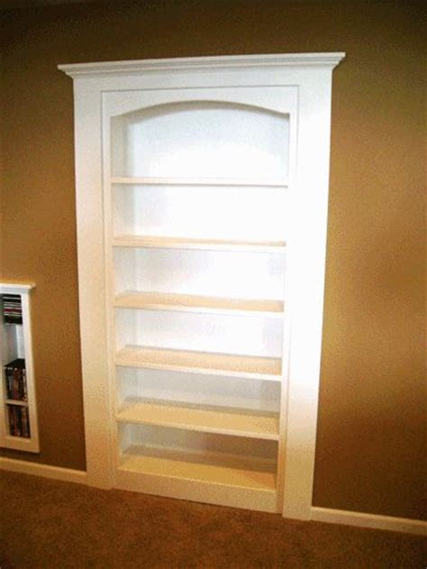 Closet Door Bookcase 17 Best Images About Closet Bookshelf Ideas On Pinterest The Office White And Corner