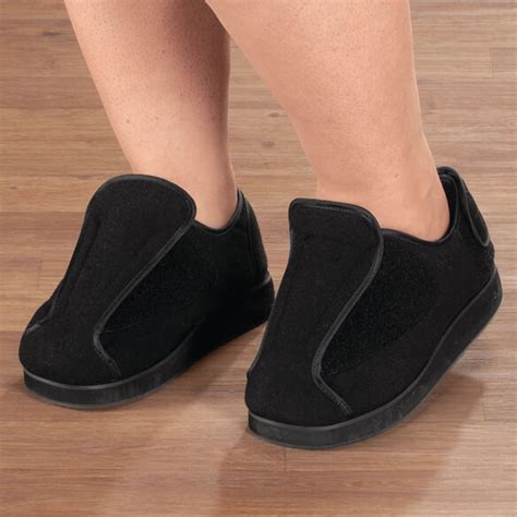 adjustable slippers for swollen adjustable edema slippers non slip slippers walter