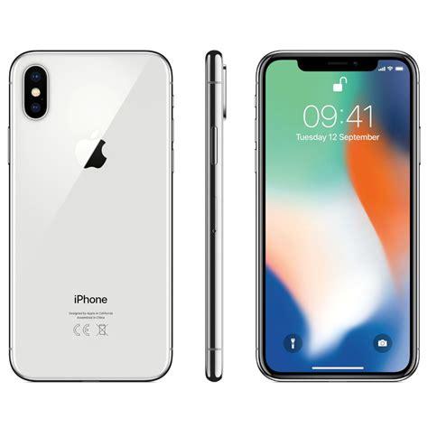 X Iphone 5 apple iphone x 64gb silver 4g smartphone smartphones