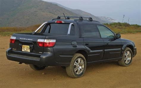 subaru truck 2006 subaru baja information and photos zombiedrive