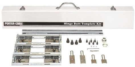 porter cable 59381 hinge butt template kit for use with 1