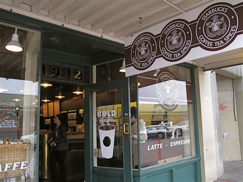 Starbucks Pike Place photos of starbucks store popsugar food