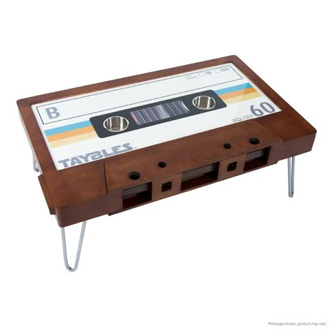 cassette coffee table b side cassette coffee table by taybles retro brown