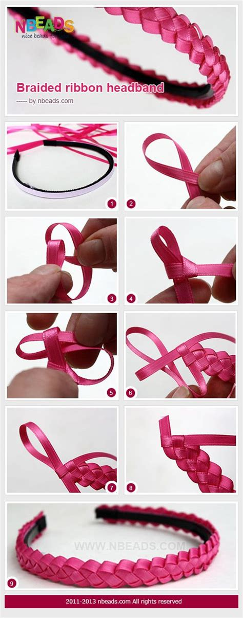 How To Make Handmade Hair Bands - best 25 ribbon headbands ideas on hair bands