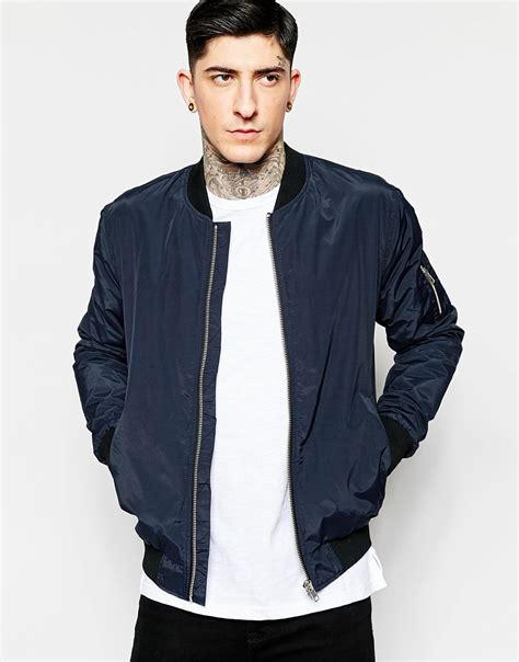 Jacket Bomber Premium Navy bomber jacket navy customize jacket