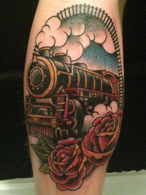 steam train tattoo designs 52 steam tattoos