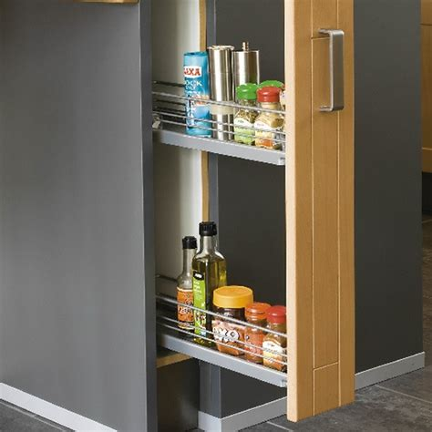 pull out spice rack ikea pull out spice rack kitchen pinterest