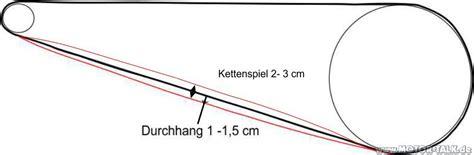Motorradkette Durchhang by Kettendurchhang Kettenspiel Suzuki Motorrad 205026771