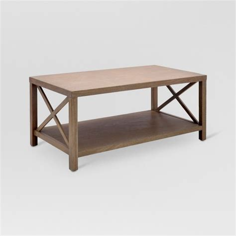 Threshold Coffee Table Owings Coffee Table Rustic Threshold Target