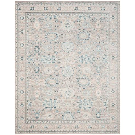 10 Ft Gray Blue Rugs by Safavieh Archive Grey Blue 8 Ft X 10 Ft Area Rug Arc670a