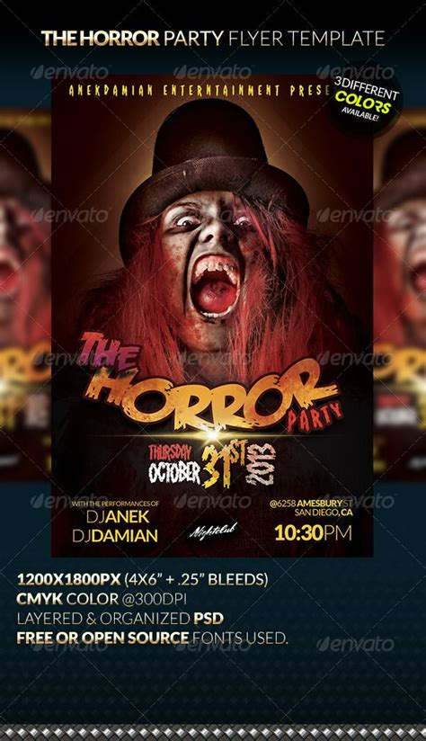 12 Best Ideas About Event Flyer Templates On Pinterest Flyer Template Black White Parties And Open Source Flyer Templates