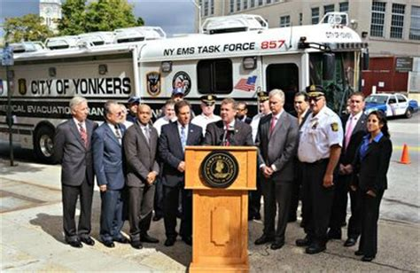 yonkers mayor mike spano unveils new major emergency