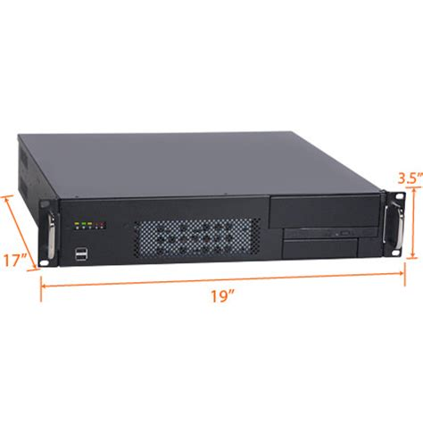 Rack Mount Pc by 2u 17 Quot Depth Industrial Rack Mount Computer Rms203