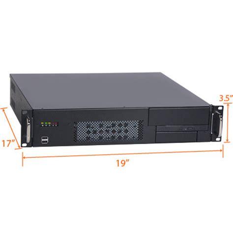 Laptop Rack Mount by 2u 17 Quot Depth Industrial Rack Mount Computer Rms203