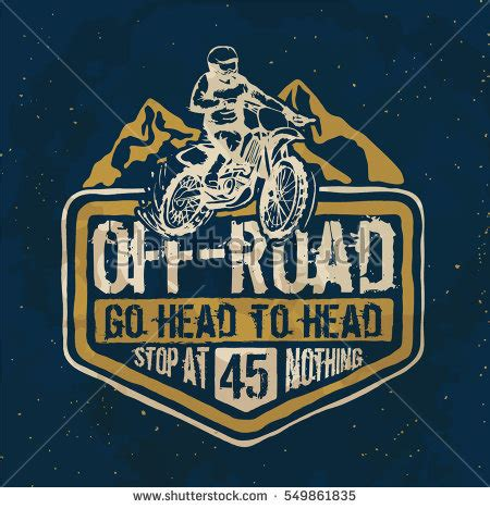 T Shirt Printing Cross motorcycle motorcross offroad typography tshirt printing