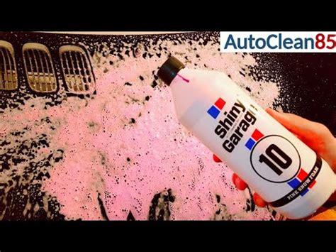 pink foam autowaesche mit shiny garage pink snow foam