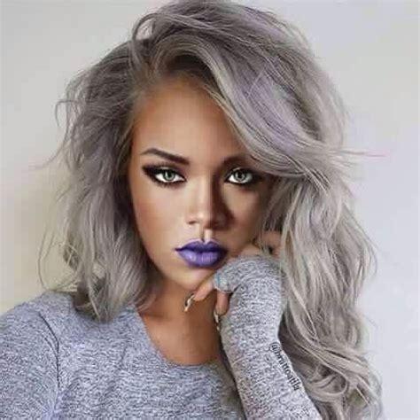 rihanna hairstyles 2015 gray hair rihanna with grey hair short hairstyle 2013