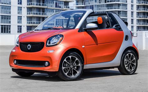 Smart Car Wallpaper Hd by Smart Fortwo Cabrio 2017 Us Wallpapers And Hd Images