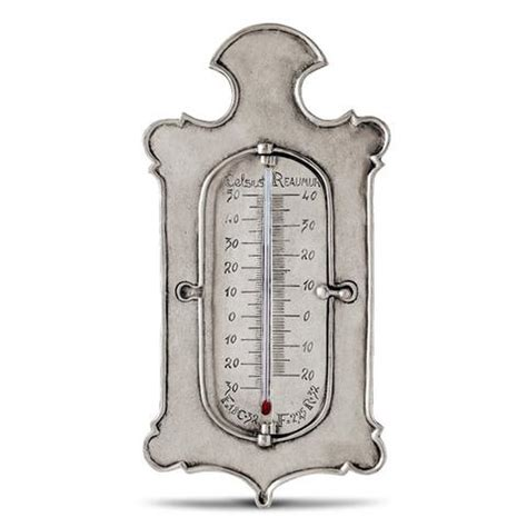 Handcrafted In Italy - kelvin 3 scale thermometer 27 cm height handcrafted in