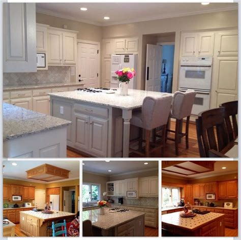 paint kitchen cabinets white before and after 1000 images about painted kitchen cabinets on pinterest