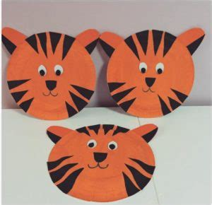 paper plate animals craft idea for crafts and