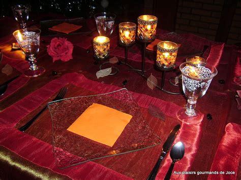 Decoration Orientale Pour Table by D 233 Coration De Table Orientale