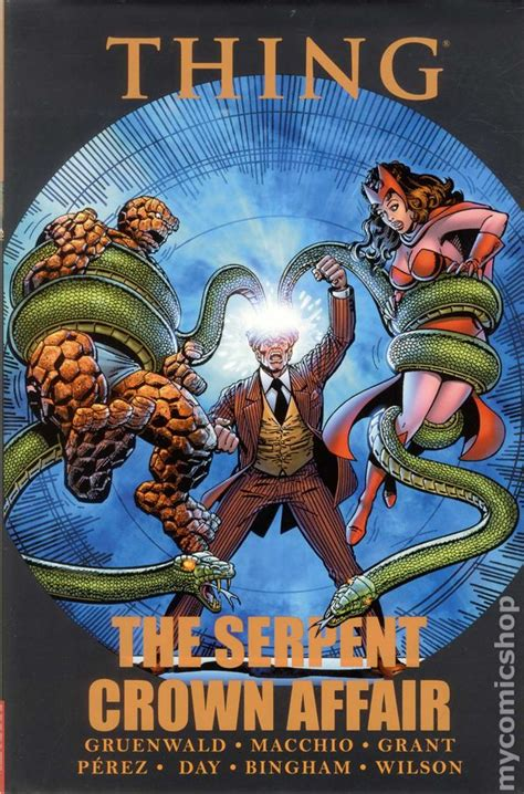 Thing The Serpent Crown Affair thing the serpent crown affair hc 2012 marvel comic books