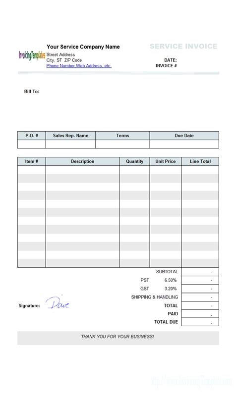 insurance invoice template insurance invoice template invoice template ideas