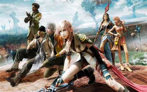 wallpaper game fantasy final fantasy 13 game wallpapers hd wallpapers id 9690