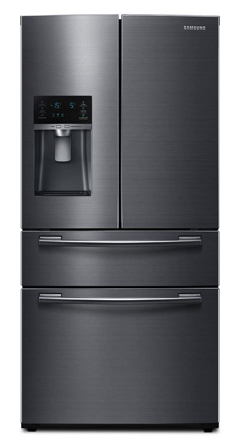 black samsung door refrigerator samsung black stainless steel door refrigerator 24