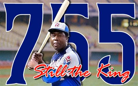 scratch hit sports hank aaron hits home run 755