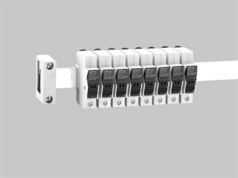 Fuse Holder Untuk Fuse 10x38 woehner usa launches busbar mounted fuse holder solar builder