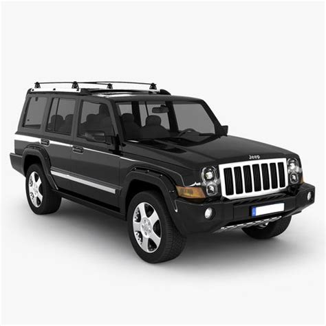 Jeep Suv Models Jeep Commander Suv 3d Model Max Obj 3ds Cgtrader