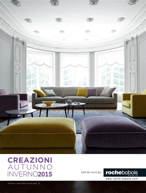Roche Bobois Catalogue by Roche Bobois Catalogue Autunno2015 By Mobilpro Issuu