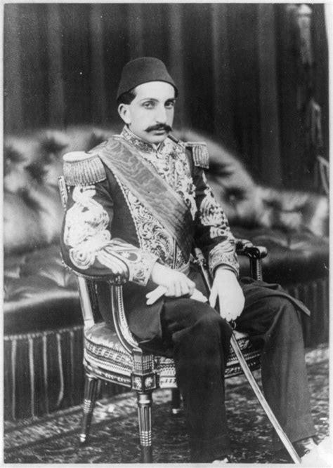 the last ottoman big wolf abdul hamid ii the last ottoman sultan called