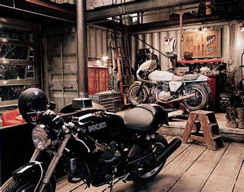 Motorcycle Garage by Motorcycle Garage Garage Shop The