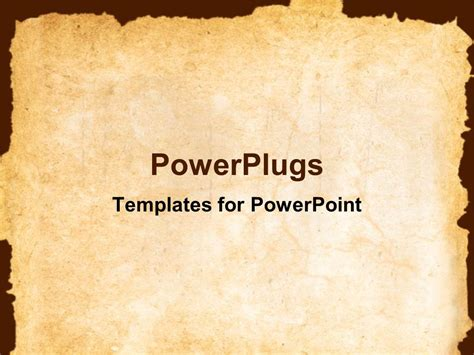 powerpoint themes old paper powerpoint template vintage background showing old paper