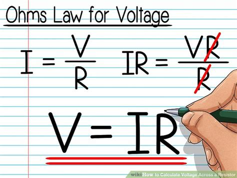 resistors to step voltage how to calculate voltage across a resistor with pictures