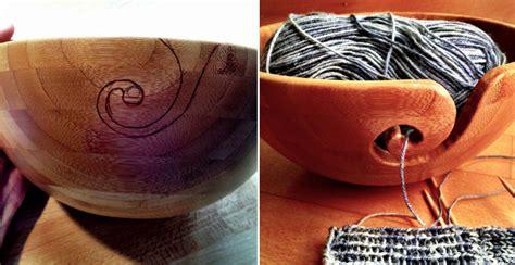 bamboo yarn bowl diy crafts handimania