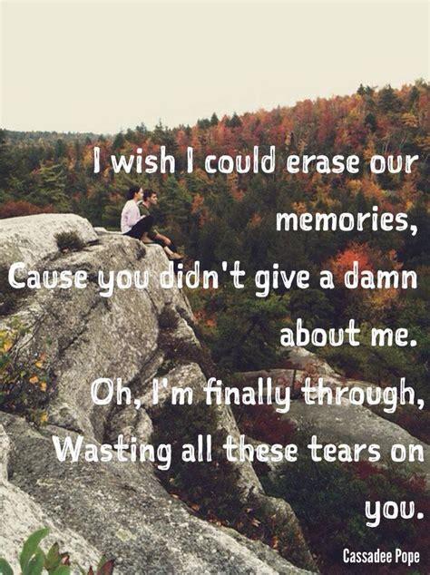 crying on the bathroom floor lyrics cassadee pope wasting all these tears lyrics country
