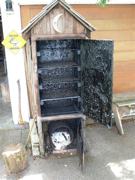 diy pit enclosure wooden smoker search gotowanie