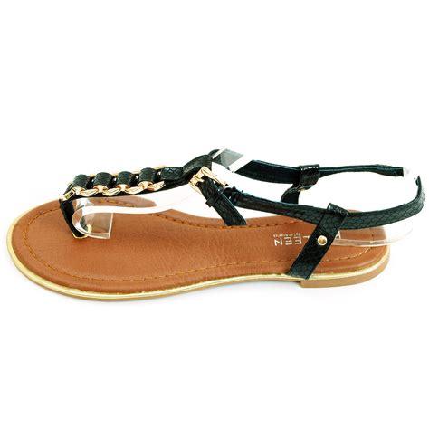 flip flat shoes womens sandals flip flops metal flats t thongs