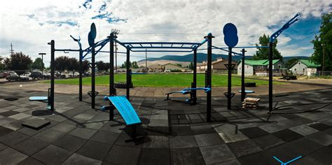 outdoor fitness park mountain valley fitness health