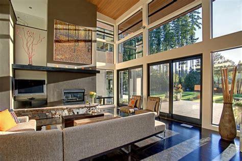 high ceiling living room ideas modern house interiores de casas modernas 25 estupendas ideas
