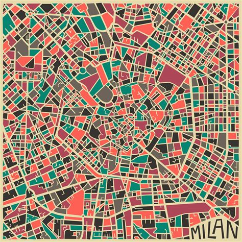 city map modern abstract city maps colossal