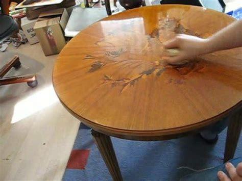 Holz Polieren Schellack by Schellack Politur Tisch