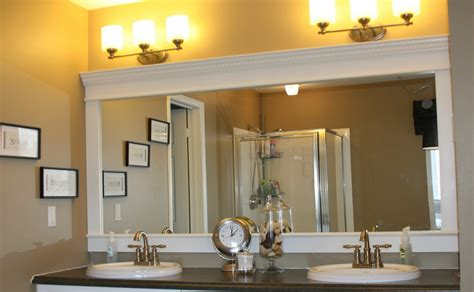 Bathroom Mirror Frames And How To Get Them Custom Made Bathroom Mirror Frames Kits