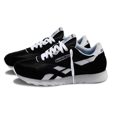 Reebok Black reebok classic black white shoes 163 32 00 132246