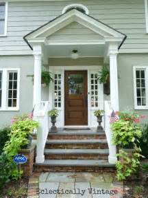 Portico Designs For Front Door Building A Front Portico Southern Hospitality